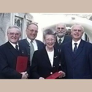 2002 - Verleihung der Kunst- und Kulturmedaille