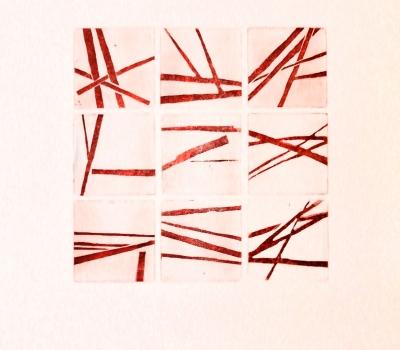 """Ausstellung """"Reduktion""""  Arbeiten von Sonja Dieplinger"""