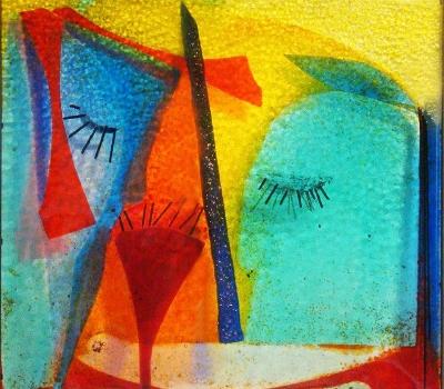 """Ausstellung """"Begegnungen""""      Arbeiten von Maria Gruber"""